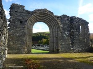 The portal arch of Strata Florida Abbey